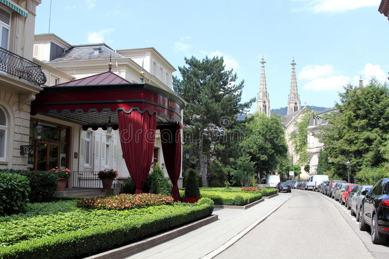 Baden-Baden. Famous spa town Baden-Baden, Germany royalty free stock photography