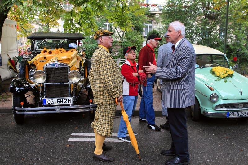 BADEN-BADEN, GERMANIA 12 LUGLIO: La mostra internazionale di ol fotografia stock