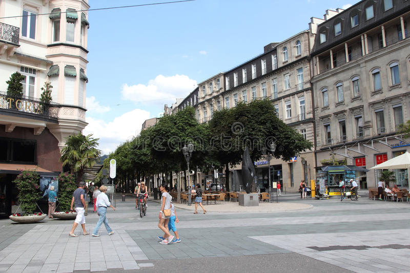 Baden-Baden, Germany royalty free stock images