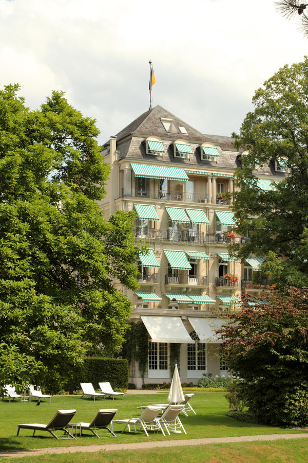 Baden-Baden resort, Germany stock images