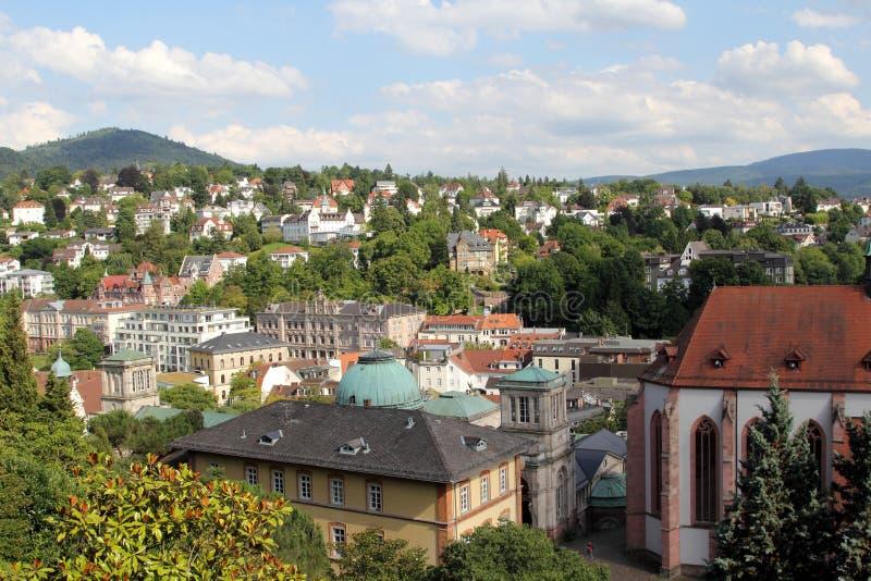 Baden-Baden. World famous spa town Baden-Baden, Germany stock photos