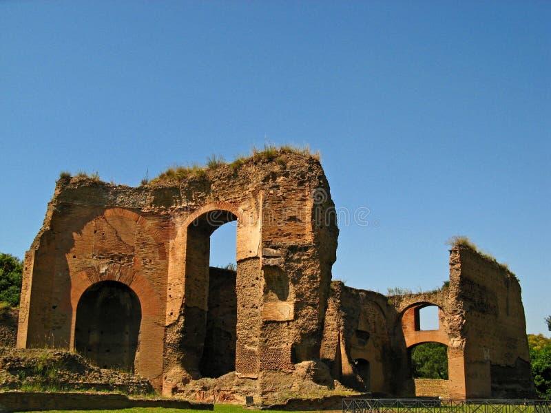 Baden van Caracalla 03 royalty-vrije stock fotografie