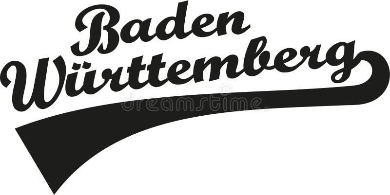 Baden-Wü rttemberg stock abbildung