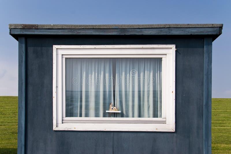 Badende Hut stock afbeelding