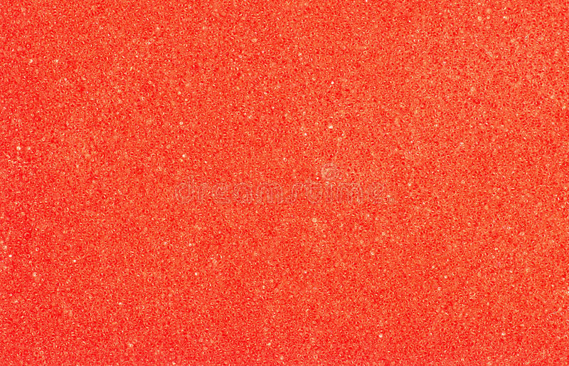 Badeschwammnahaufnahme, roter abstrakter poriferous Hintergrund stockfotografie