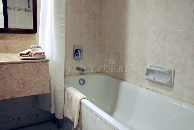 badet badar royaltyfri bild