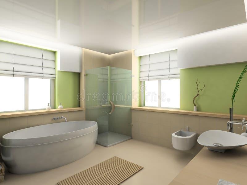 Badezimmer vektor abbildung