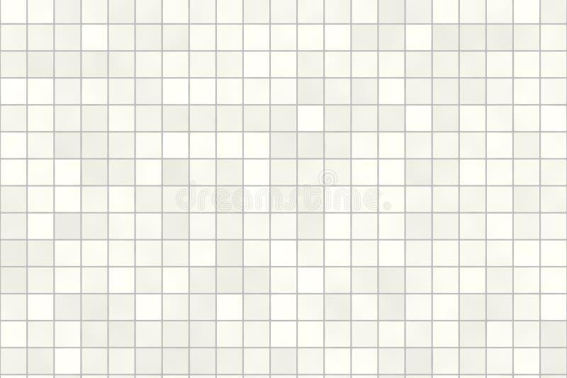 Badezimmer deckt nahtloses mit Ziegeln stock abbildung