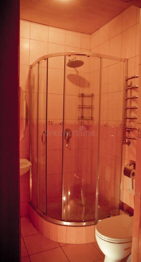 Badezimmer-Dusche stockfoto