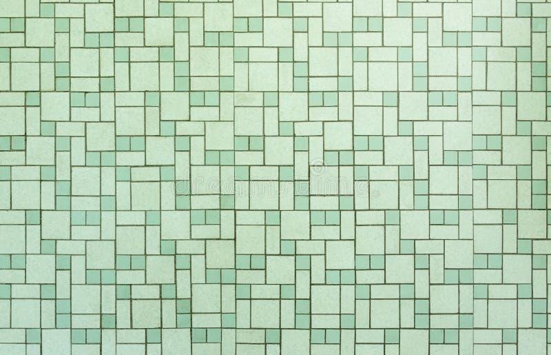 Badezimmer-Fliesenhintergrund fünfziger Jahre der Weinlese nahtloser lizenzfreie abbildung