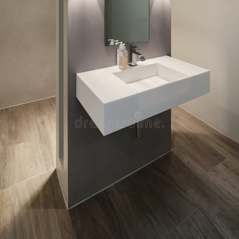 Badezimmer, Modernes Design Stockbild - Bild: 65080313