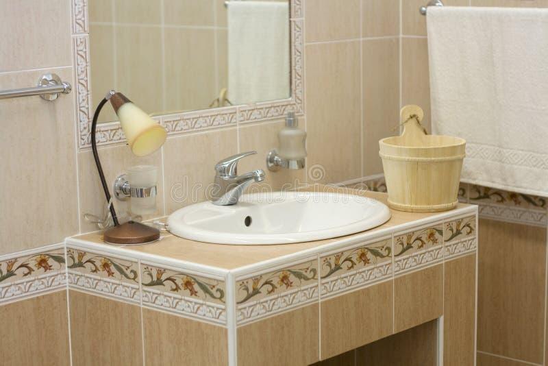 Badezimmerinnenraum stockfoto