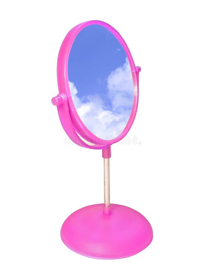 Badezimmerspiegel stockfotografie
