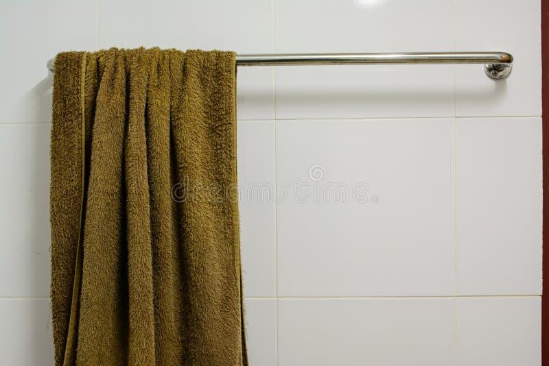 Badezimmerstange stockfoto