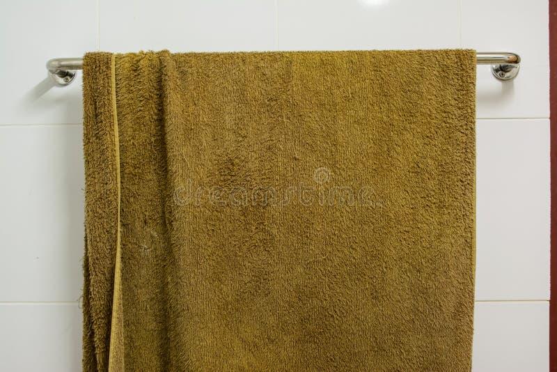 Badezimmerstange stockbild