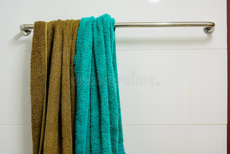 Badezimmerstange lizenzfreies stockbild