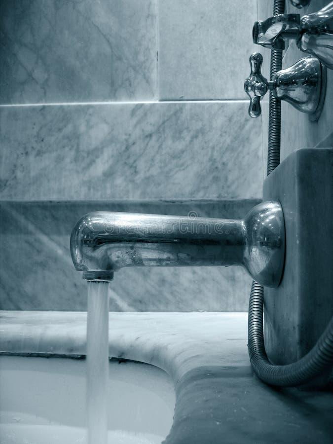 Badezimmerträume stockfoto