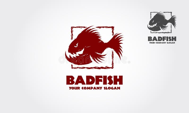 BadFish logo stock illustrationer