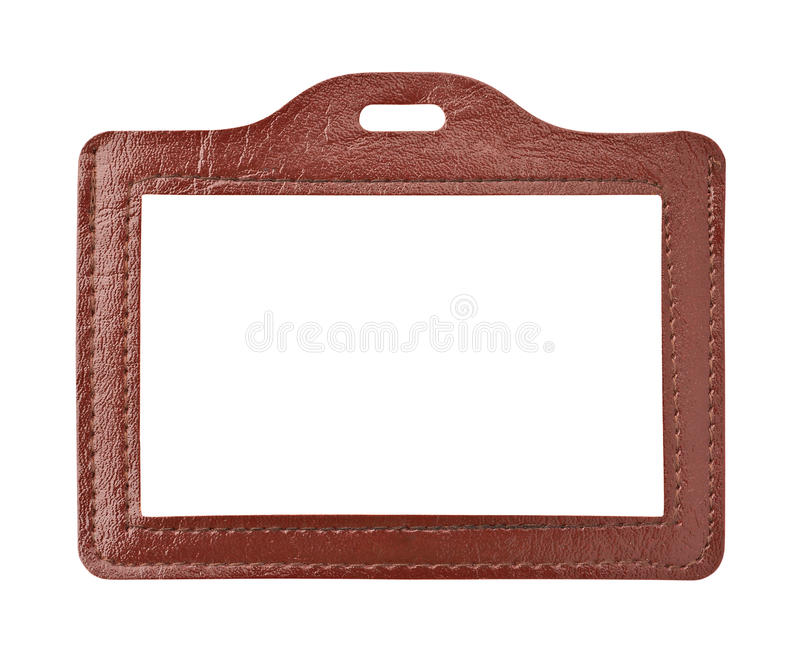 Download Badge stock image. Image of leather, identification, empty - 26607255