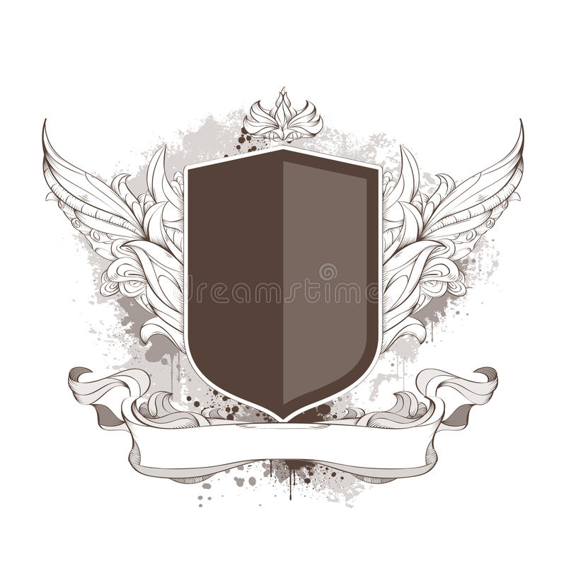 Free Badge And Bizarre Pattern Royalty Free Stock Image - 14222376