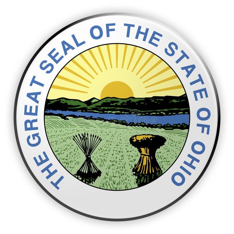 Badge Historic US State Seal Louisiana 3d Illustration