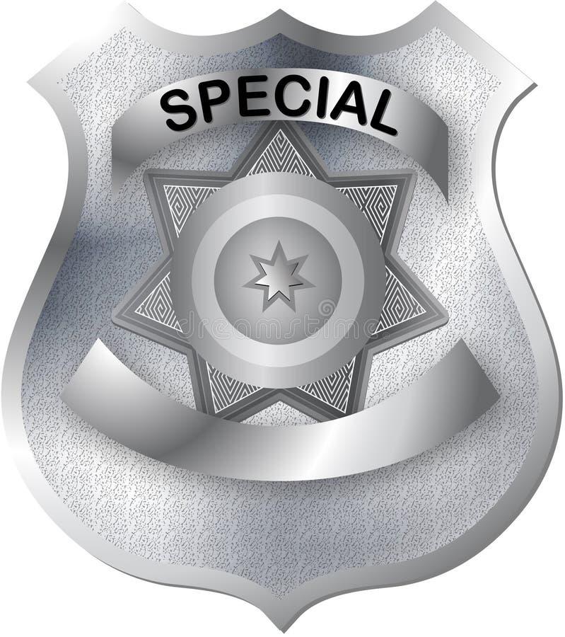 Free Badge In Gray Silver Color Tones Stock Photos - 13961033