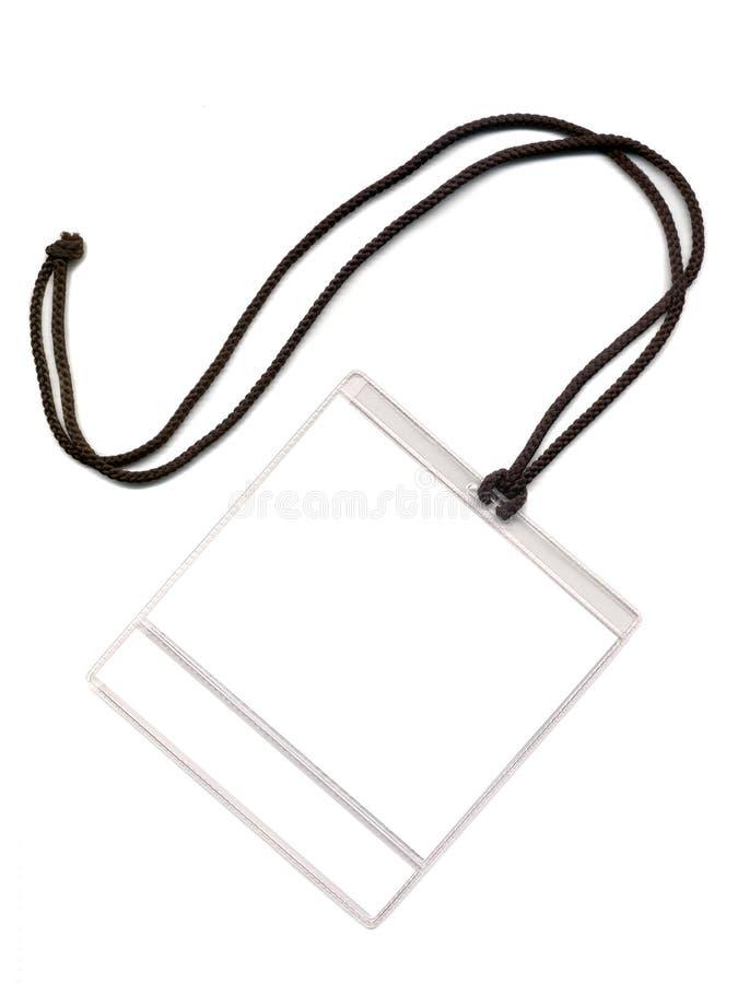 Badge mit einem weißen Ort eines Exemplars lizenzfreie stockfotografie