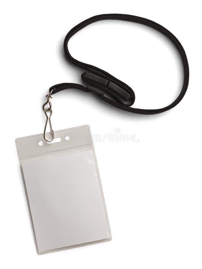 Badge nominatif de sécurité photographie stock