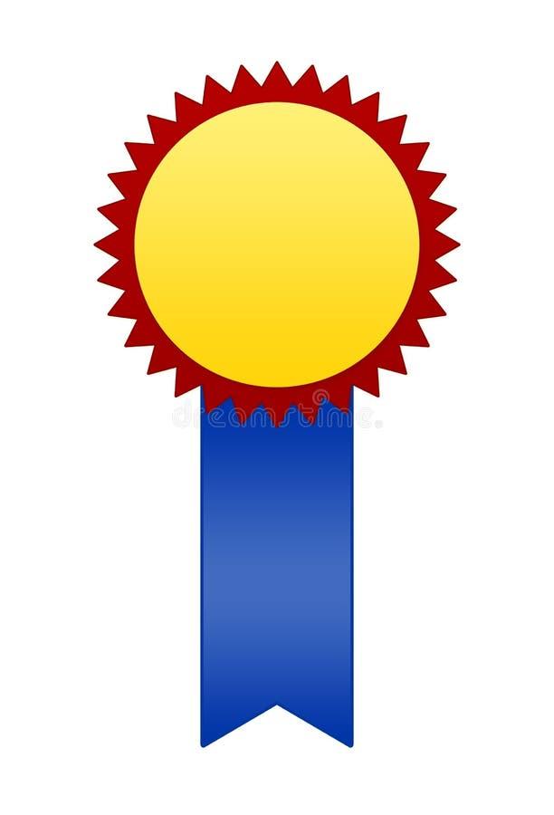 badge ribbon winner ελεύθερη απεικόνιση δικαιώματος