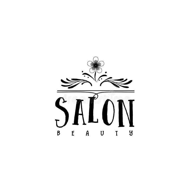 Logo With Barber Concept Design For Branding: Beauty Salon. Sticker, Stamp
