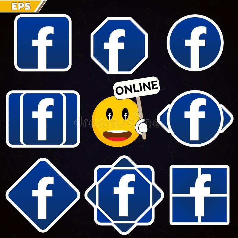 Facebook Logo Icon Social Network Facebook Smile Social Network