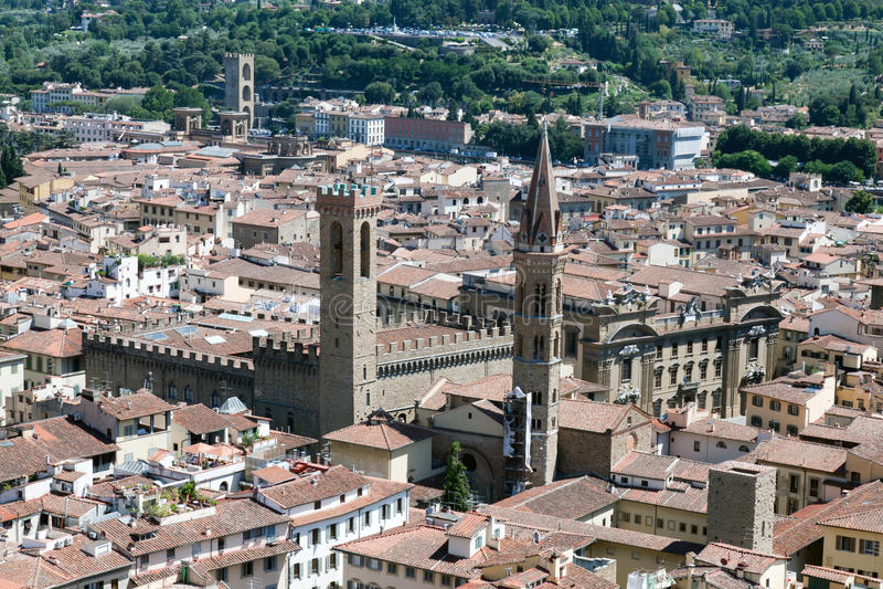 Badia Fiorentina fotos de archivo