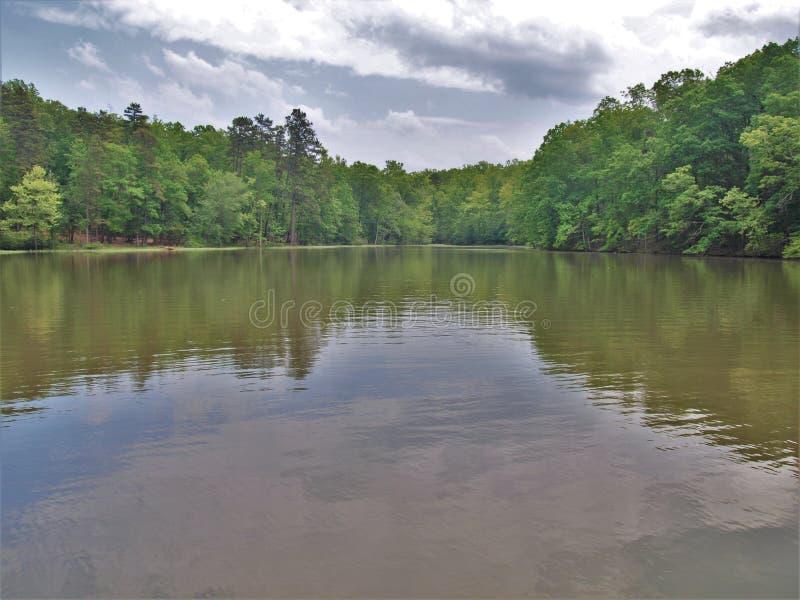 Badin jezioro zdjęcia royalty free