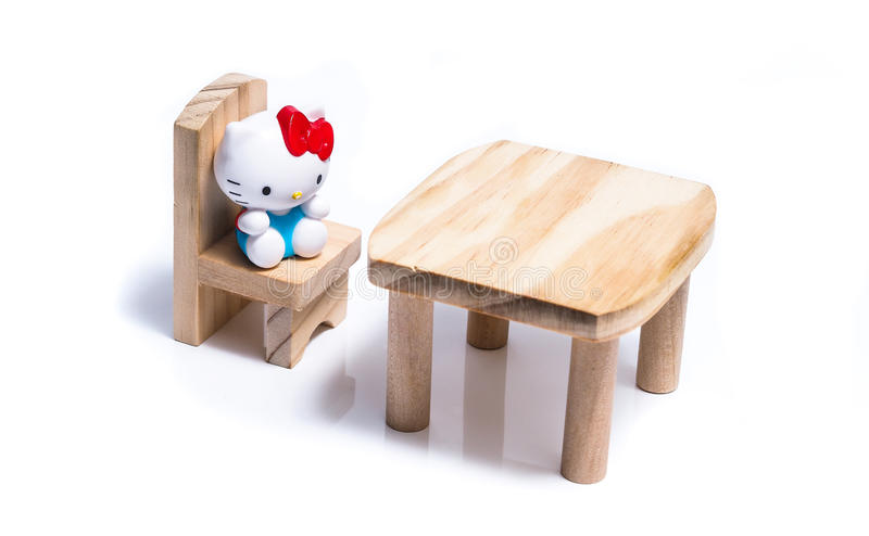 Badine des jouets de meubles photos stock