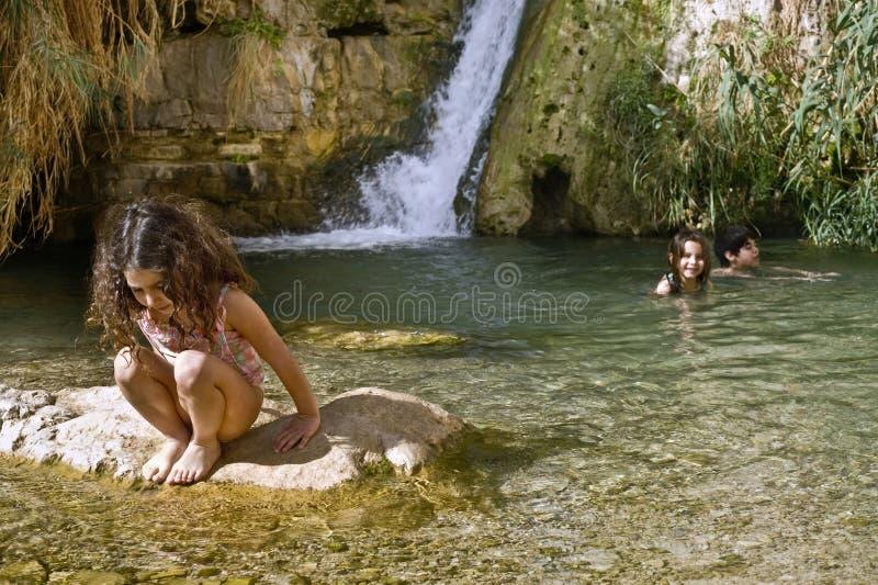 badine l'oasis photo stock