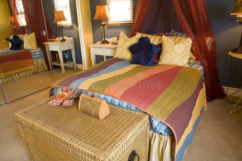 Badine la chambre à coucher 1798 images libres de droits