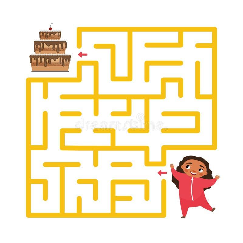 Badine le jeu éducatif illustration libre de droits