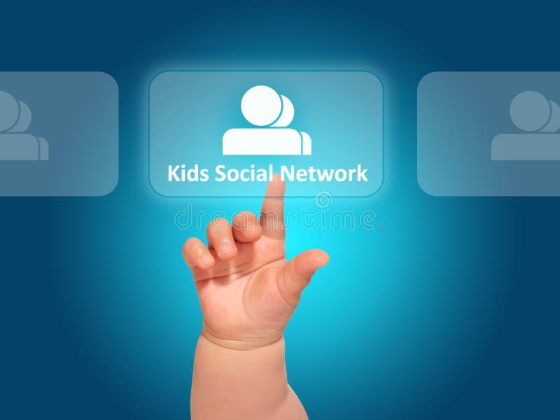 Badine les réseaux sociaux. images libres de droits