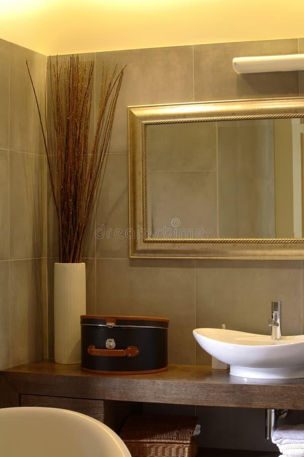 Badkamers in een Flat van de Luxe royalty-vrije stock foto