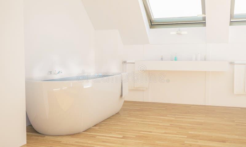badkamers minimaal binnenland royalty-vrije stock foto
