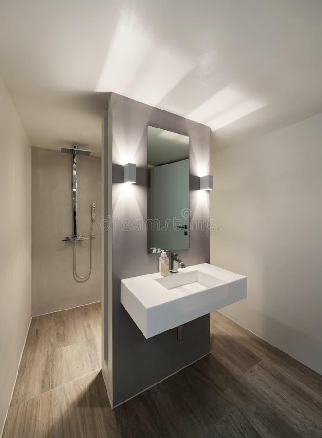 Badkamers, modern ontwerp stock foto. Afbeelding bestaande uit ...
