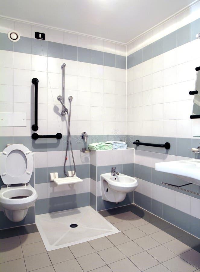 Badkamers zonder hindernissen stock afbeeldingen