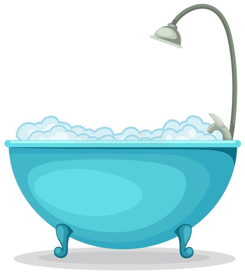 Badkuip stock illustratie