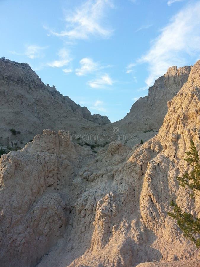 Badlands Dakota del Sur imágenes de archivo libres de regalías