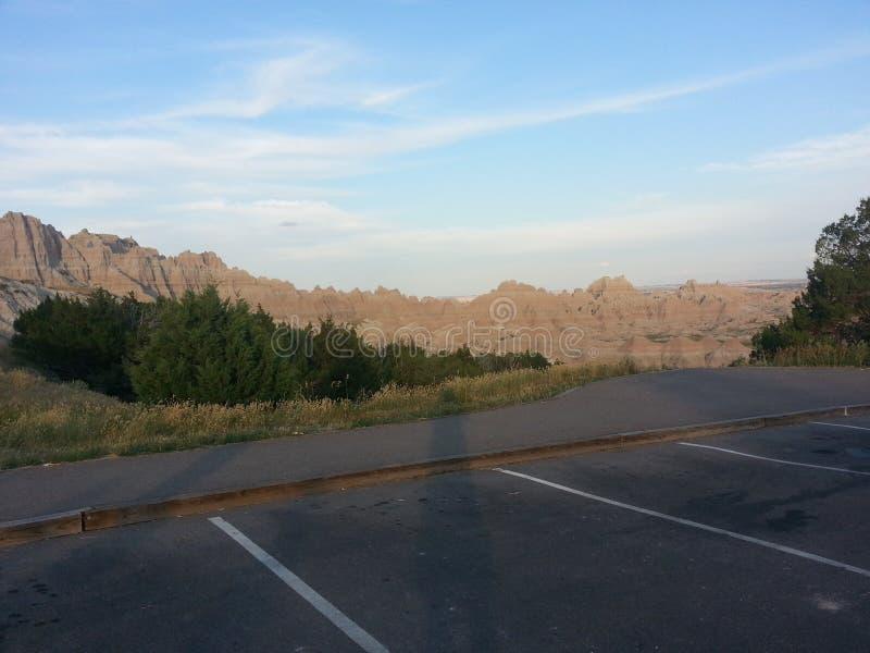 Badlands Dakota del Sur fotografía de archivo libre de regalías