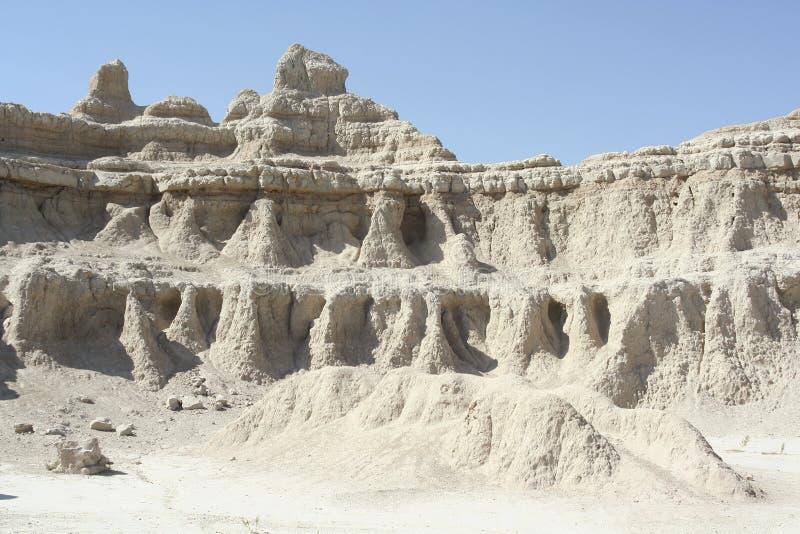 badlands Dakota park narodowy południe zdjęcie royalty free