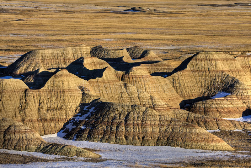 badlands Dakota południe obraz stock