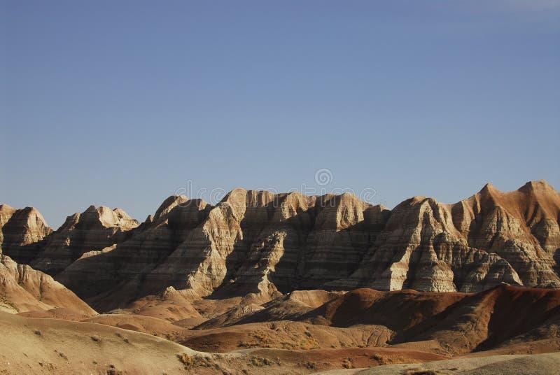 Badlands de Dakota del Sur foto de archivo libre de regalías