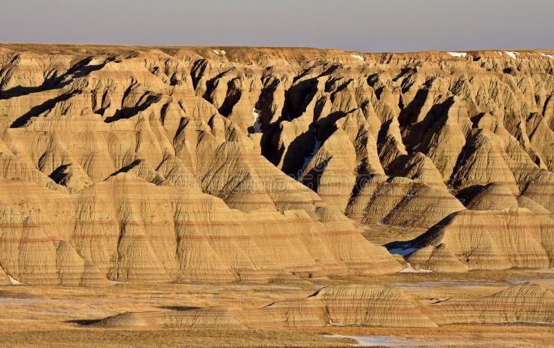 Badlands de Dakota del Sur fotos de archivo libres de regalías
