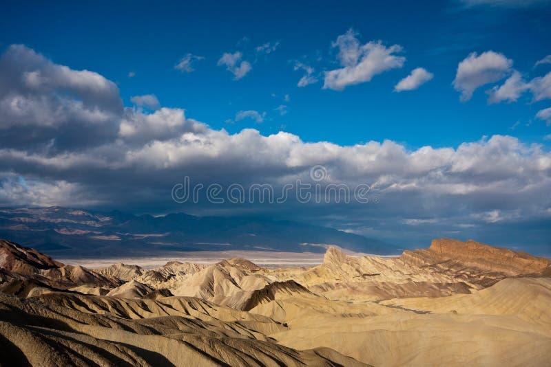 Badlands in Death Valley stock photo